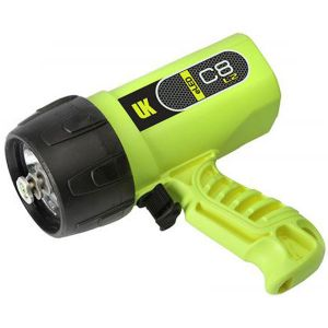 Underwater Kinetics C8 L2 eLED Rechargeable Waterproof Dive Torch/Light
